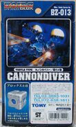 Cannondiver box back