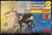 Zoids 2 Claw box front