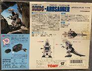 Arosaurer 1983 box back
