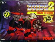Zoids 2 Red Horn box front