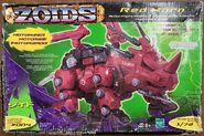Red Horn hasbro box front