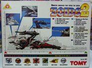 Zoids 2 Demon Lizard box back