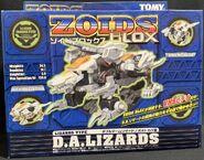 D.A. Lizards box front