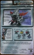 Chimera Dragon action figure card back