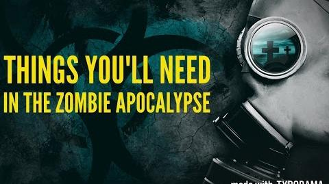 Everything You'll Need In The Zombie Apocalypse