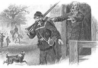 1863, Vicksburg Mississippi, Zombie Outbreak