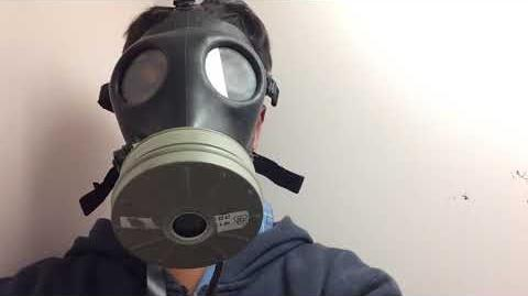 Gas Mask For The Zombie Apocalypse