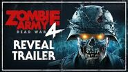 Zombie Army 4 Dead War – Reveal Trailer PC, PlayStation 4, Xbox One