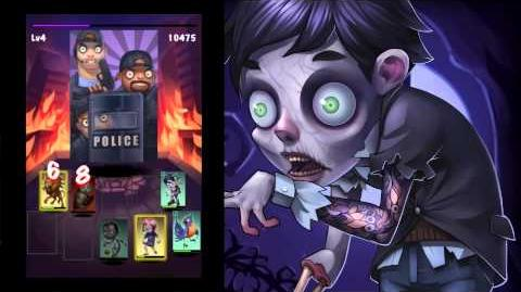 GREE Games - Zombie Jombie Epic Boss Blue Meanies