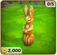 Sitting Rabbit Statue
