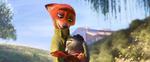 Judy and Nick hugging