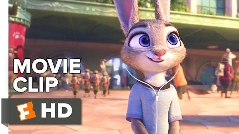 Zootopia Movie CLIP - Arriving (2016) - Ginnifer Goodwin, J.K