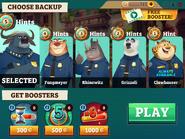 Backup Officers