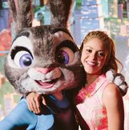 Shakira Zootopia Premiere