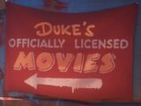 Duke's Officially Licensed Movies