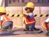 Beaver construction workers