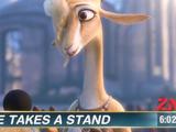 Gazelle's peace rally