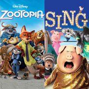 Zootopia vs Sing