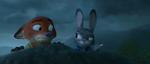 Judy pointing to the asylum