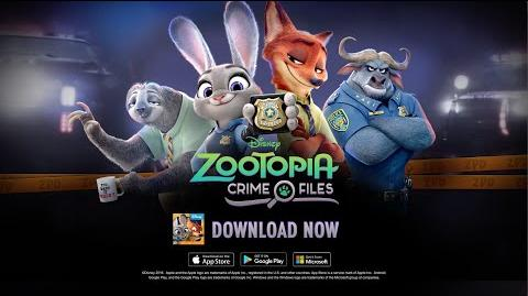 Zootopia Crime Files Hidden Object – Launch Trailer