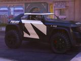 Judy and Nick's police car