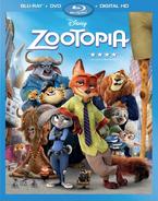 Zootopia Bluray
