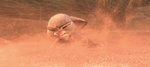 Judy in sand