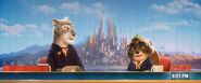 Zootopia Michael Tanuyama with leopard