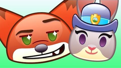 Zootopia As Told By Emoji Disney
