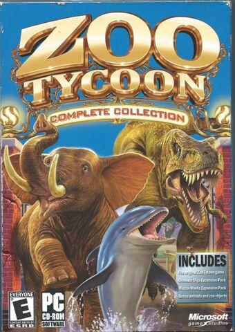 Pc-Cd Rom CD Zoo Tycoon