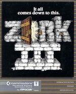 Zork III box art