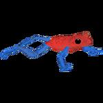Blue Jeans Dart Frog (Feral Designs)