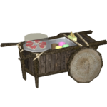 Forest Snack Cart (HENDRIX)