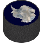 Antarctic Map (Whalebite)